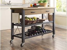 kitchen cart rolling kitchen cart unflappable center islands for