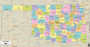Map Of Usa And Cities by Map Of Oklahoma State Map Of Usa