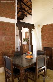 Interior Decoration Indian Homes Sustainable Design Using Laterite Indian Home Eco Friendly