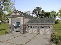 attached 2 car garage plans rv garage plans rv garage plan with attached 2 car garage