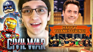 rdj posted my thanksgiving photo the civil war trailer