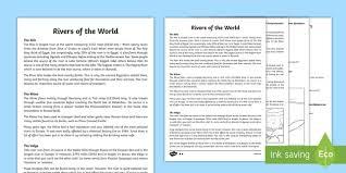 ks2 worksheets geography rivers worksheets ks2 page 1