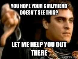 Help Me Help You Meme - livememe com downvoting roman