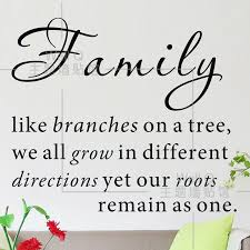 quotes about family do it family like branches on a tree quote