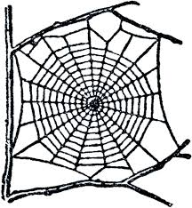 free spider web clip art the graphics fairy