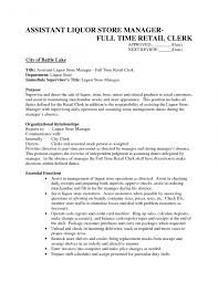 exles of best resume liquorres and agencies supervisor cv work experiencere clerk