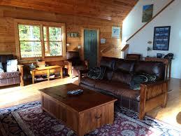 Beautiful Log Home Interiors by Beautiful Log Home Lake Side Vrbo