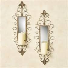 Mirrored Wall Sconce Wall Sconces Wall Candleholders And Wall Candelabras Touch Of