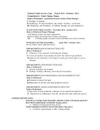 Sample Resume For Environmental Services by Kusimo Idris Olalekan Cv