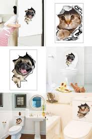 Wall Stickers Cats Best 25 Stickers Toilettes Ideas On Pinterest Stickers