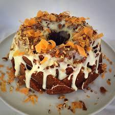 carrot bundt cake u2013 becks bakes
