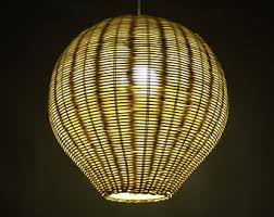 Decorative Light Fixtures by Hand Made Natural Rattan Pendant Lights Hand Made Rattan