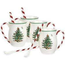 spode tree handle mugs set of 4 polyvore