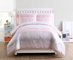 Tie Dye Bed Set Vcny Home Blush Crush Tie Dye Bed In A Bag Comforter Set