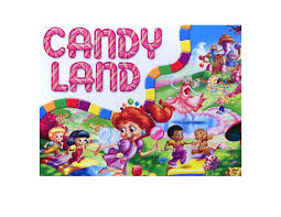 candy land candyland edible image photo cake topper sheet