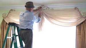 How To Hang A Valance Scarf by How To Buy Curtains How To Purchase And Install Diy Curtains And