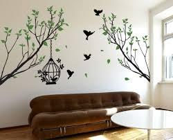 bird cage tree wall decal wall decal wall art decal sticke