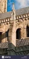 flying buttress at salisbury cathedral in salisbury wiltshire