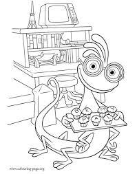 125 disney monsters monsters university coloring