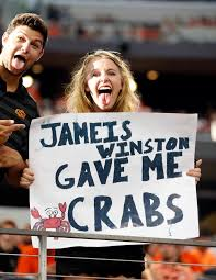 Jameis Winston Memes - more than a dozen jameis winston crab legs signs at college