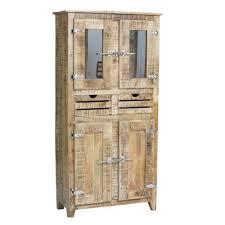 armoir chambre pas cher armoire 2 portes frigo bois naturel achat vente armoire de chambre