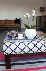 Custom Fabric Ottoman by Upholstery 101 10 Projects To Get You Started U2013 Design Sponge