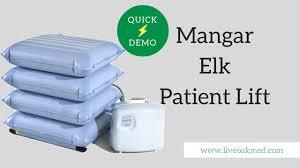 Lift Cushion For Chair Mangar Elk Emergency Lifting Cushion Quick Demo Youtube
