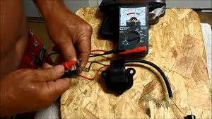 how to check a johnson and evinrude coil youtube