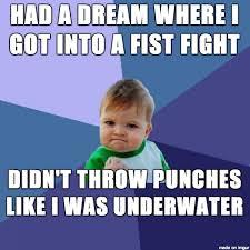 Fight Meme - i actually won the fight meme guy