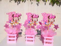 minnie mouse 1st birthday party ideas baby minnie mouse centerpiece for 1st by uniqueboutiquebygami