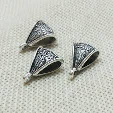 jewelry making necklace clasp images 10pcs statement necklace bails pendants connector toggle clasp jpg