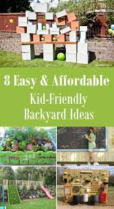 Cheap And Easy Backyard Ideas 8 Easy U0026 Affordable Kid Friendly Backyard Ideas Kid Friendly