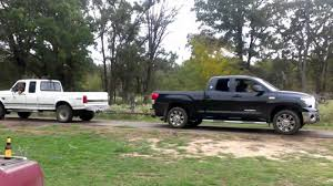 nissan tundra 2016 powerstroke vs toyota tundra youtube