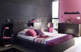 chambre prune déco chambre parentale harmonie de gris et prune
