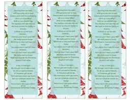 cutest poem ever for the bustle of christmas giving for the