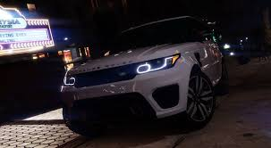 range rover svr engine range rover sport svr 2016 animated templated add on gta5