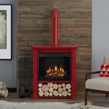 Rustic Electric Fireplace Fireplaces For Less Overstock Com