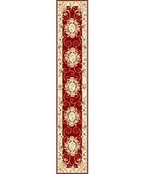 Safavieh Lyndhurst Collection Safavieh Lyndhurst Traditional Oriental Red Ivory Rug 8 U0027 X 11