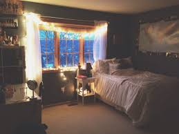 Rope Lights For Bedroom Bedroom Cozy Bedroom With White Bedding And White