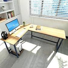 Contemporary L Shaped Desks L Shaped Corner Computer Desk Modern Office Corner Desk Design