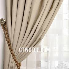Silk Draperies Ready Made Casual Beige Ready Made Faux Silk And Toile Simple Nice Curtains