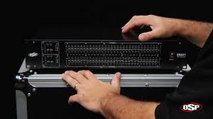osp eq231 dual 31 band equalizer youtube