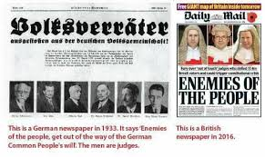 Advice Hitler Meme - the daily mail enemies of the people and a nazi newspaper