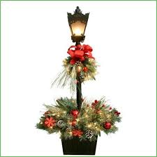 Christmas Outdoor Decorations Commercial by Lighting Residential Lamp Post Christmas Decorations Lamp Post