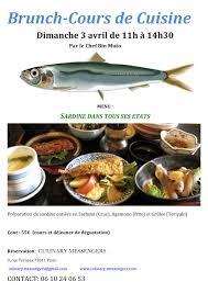 cours de cuisine dimanche culinary messengers cours