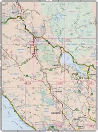 Highway Map Sonoma County Highway Map