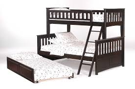 Twin Over Full Wood Bunk Bed Lowell Twin Over Full Bunk Bed The - Wooden bunk bed with trundle