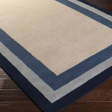 Royal Blue Outdoor Rug Mystique Area Rug Gray Solids And Borders Rugs Hand Loomed Style