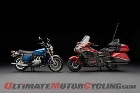 honda goldwing honda gold wing turns 40 history making motorcycles