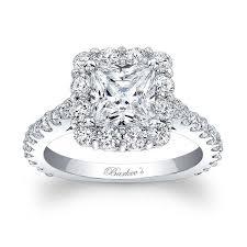 engagement ring barkev s princess cut halo engagement ring 7939l barkev s